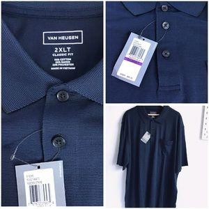 Van Heusen | Men's 3 Button Polo / Golf Shirt 2XL